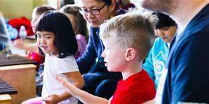 Family Arts Day at HCA