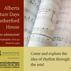 Culture Days at Rutherford House