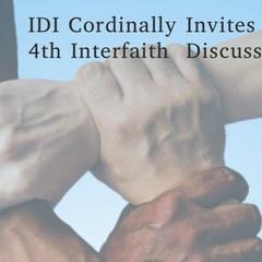 IDI Regina Interfaith Discussion Dinner 2019