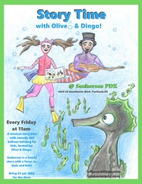 Storytime with Olive &Dingo in SE PDX