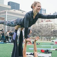 Beginner's Acro Yoga w/ Fitness Ambassadors