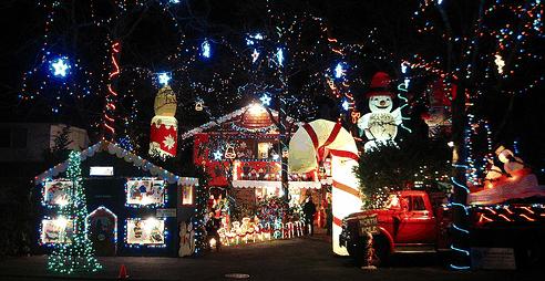 Houston Christmas Lights Tour