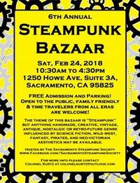 6th Annual Steampunk Bazaar