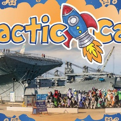 Galactic Camp 2019: on the USS Hornet Aircraft Carrier!