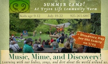 Mime, Music and Discovery Summer Camp