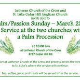 Community Palm Procession and Palm Sunday Service