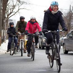 Winter Bike to Work Day Rise & Grind
