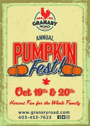 Pumpkin Fest at Granary Road