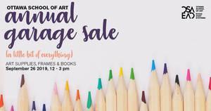 OSA Annual Garage Sale