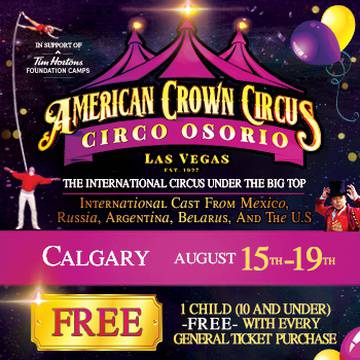American Crown Circus and Circo Osorio's promotion image