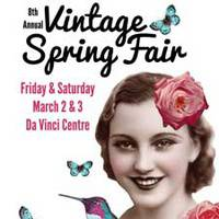 8th Annual Vintage Spring Fair - Fun for the Whole Family!