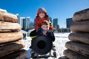Family Winter Fun Day at Fort York