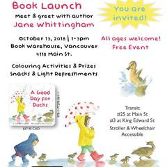 Book Launch - A Good Day for Ducks