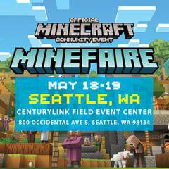 Minefaire: Official MINECRAFT Community Event (Seattle, WA)