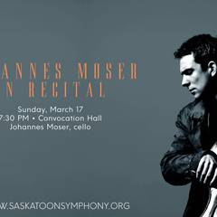 SSO Presents: Johannes Moser in Recital