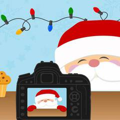 Photos and Continental Breakfast With Santa
