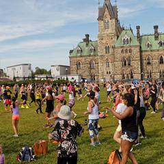 Zumba on the Hill 2019