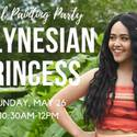 Story and Paint with Polynesian Princess
