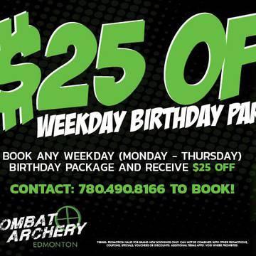 Combat Archery Edmonton's promotion image