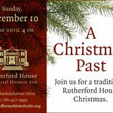 A Christmas Past at Rutherford House!