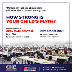 Open Math Contest for non UCMAS students