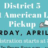 Great American Litter Pick Up - District 5
