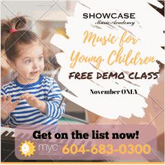 Free demo class for children under 6