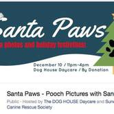 Santa Paws - Pooch Pictures with Santa!