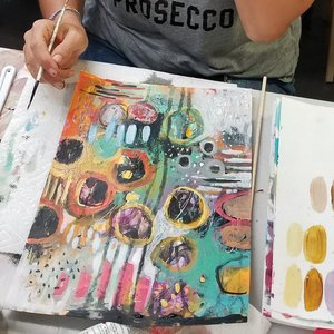 Fields of Flowers: An Abstract Painting Workshop with Betty Franks Krause