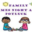 Family Games Night & Potluck