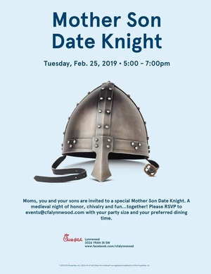Mother Son Date Knight