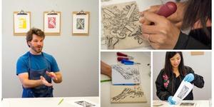 Printmaking Workshop for Beginners