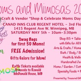 MOMS AND MIMOSAS 2018 - Craft + Vendor Shop + Celebrate Moms Day