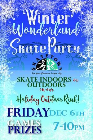 Winter Wonderland Holiday Skate Party