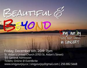 Beautiful & Beyond - SingYourJoy in Concert