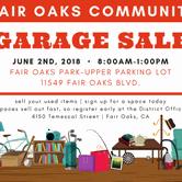 Fair Oaks Community Garage Sale