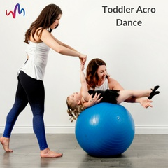 $5.00 Trial Classes- Kinder Acro (ages 3-5)