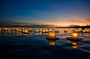 Seattle - Water Lantern Festival