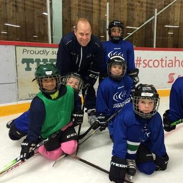 Victoria Hockey School's promotion image