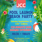 Pool Launch Beach Party