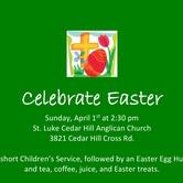 Child Friendly Celebrate Easter Service at St. Luke Cedar Hill