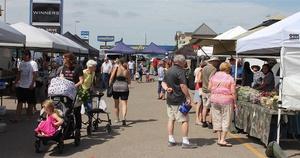 Opening Week of Community Farmers Market