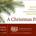 A Christmas Past at Rutherford House