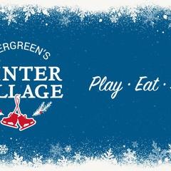Evergreen's Winter Village