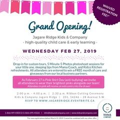 Kids & Company Jagare Ridge Feb 27 GRAND OPENING!