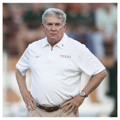 Mack Brown Texas Football Camp