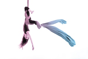 En Lair Academy Kids Acrobatic Sampler Class (Aerial Silks, Lyra, Acrobatic Dance, Break Dance)
