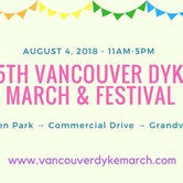 15th Vancouver Dyke March & Festival