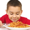 Spaghetti Breakfast with Santa