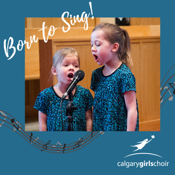 Calgary Girls Choir's promotion image